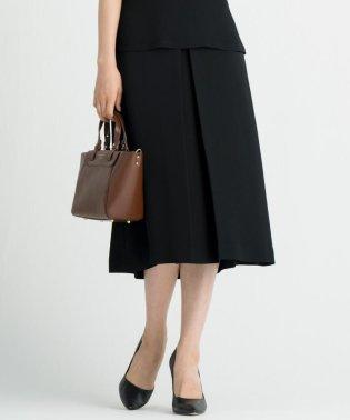 【洗える】ELEGANCE TWILL Aラインスカート