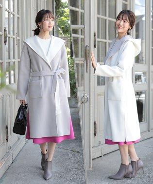 ★【MAGASEEK/d fashion限定】フードリバーコート