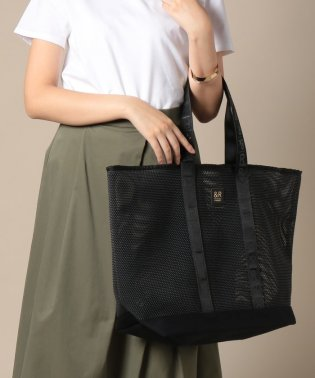 Two Color Mesh Tote【&R】(T-116-WEB)