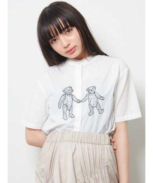 Teddyパイピングシャツ