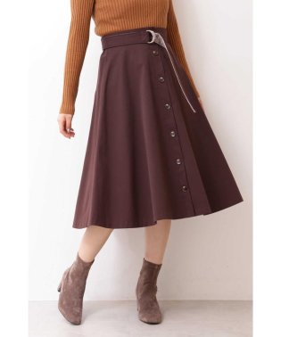ブラッシュユニオンテックツイルフレアースカート