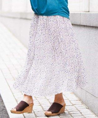 クリンクル風プリーツスカート