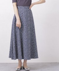 【WEB限定】レオパードフレアスカート