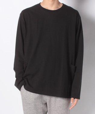 :ヘビーオンスサイドポケットTシャツLS
