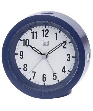 PLUS DECO プラスデコ インテリアクロック 目覚まし時計 アラーム 常時点灯【IAC-5659】