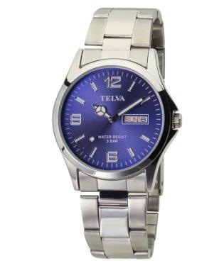 TELVA テルバ アナログウオッチ メンズ 腕時計 薄型【TE-AM181】