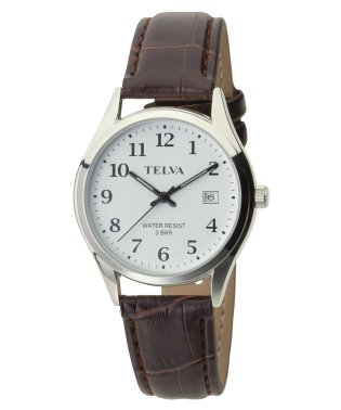 TELVA テルバ アナログウオッチ メンズ 腕時計 薄型【TE-AM185】