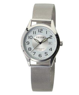 TELVA テルバ アナログウオッチ メンズ 腕時計 薄型【TE-AM186】