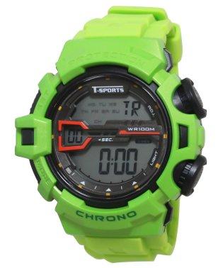 T-SPORTS ティースポーツ デジタルウオッチ 腕時計【TS-D044】