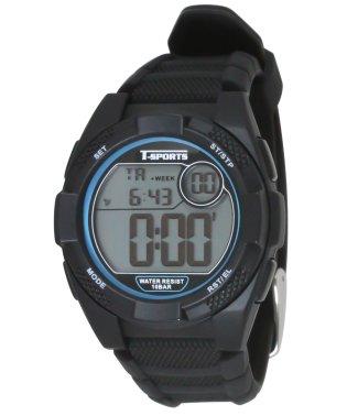 T-SPORTS ティースポーツ デジタルウオッチ 腕時計 10気圧防水【TS-D062】