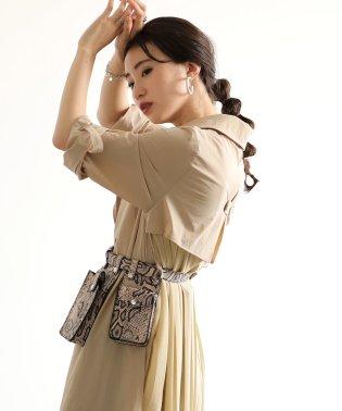 ≪2019AW先行予約≫【WEB限定】◆トレンドのスタイルに◆マイクロベルトバッグ