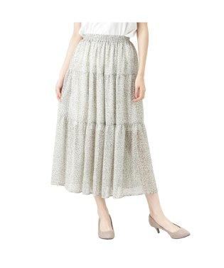 RETRO GIRL レトロガール ティアードスカート SB193-WB037