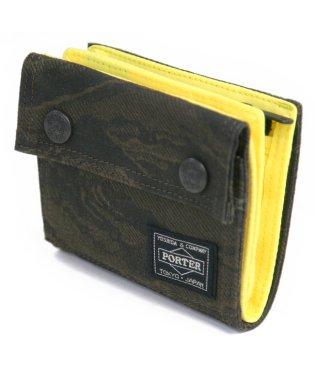 吉田カバン ポーター ポーターグリーンアイ 二つ折り財布 迷彩 カモフラ PORTER 558-07696 メンズ レディース