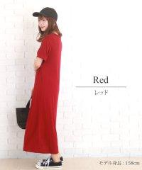 シンプルゆったりワンピース 韓国 ファッション レディース ワンピ カジュアル 涼しい 夏 サマー 可愛い かわいい シンプル ゆったり【S/S】【ra-208