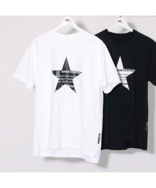 スター フロントプリント 半袖 Tシャツ