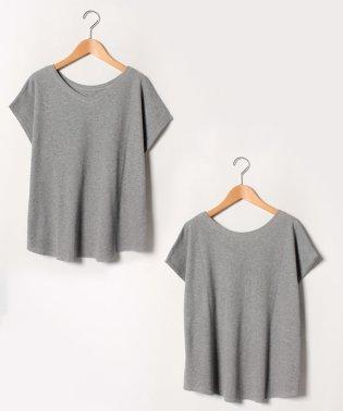 2WAYワッフル素材Tシャツ