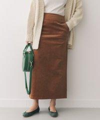 【DOORS】コーデュロイマキシストレートスカート