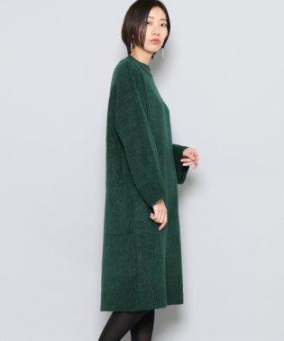 【SENSEOFPLACE】ハイネックニットワンピース