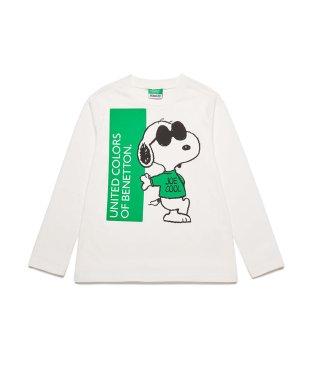 【スヌーピーコラボ】ロゴTシャツ・カットソー