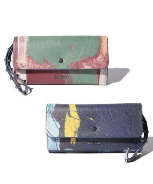 MONE LOVE KAOS REVERSIBLE LONG WALLET