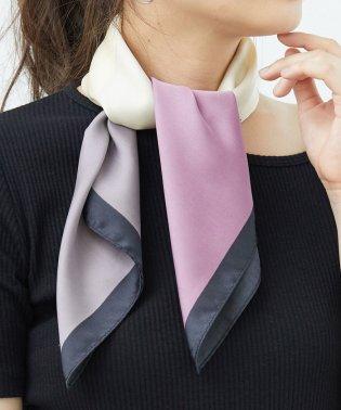 ランダムパネルカラースカーフ