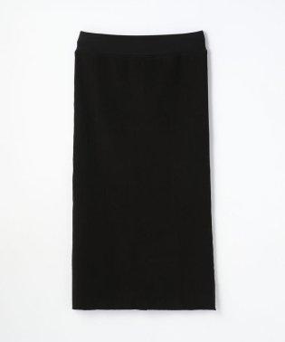 リブストレッチ バックスリットスカート WLRK5929