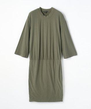コットンジャージー クルーネックドレス WVD6470