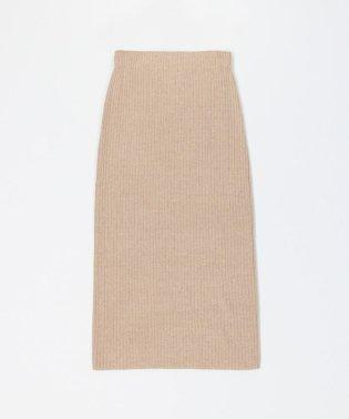 コットンリブ ミディタイトスカート