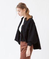 ミリタリーオーバーサイズシャツ/ジャケット