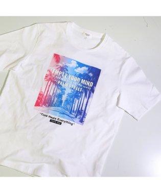【エンボス加工】リゾートフォトTシャツ