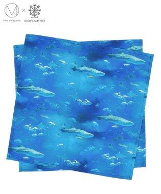 ランチクロス スタンダード(45×45cm)2枚セット ディープブルー(オックス)  【mika】