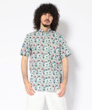 CREW(クルー)サマープリントS/S BDシャツ
