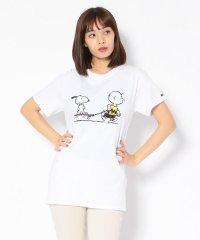 "MANASTASH/マナスタッシュ 別注Movie Tee ""Peanuts slacker"" Tシャツ"