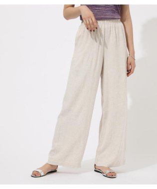 RAYON LINEN RELAX PANTS