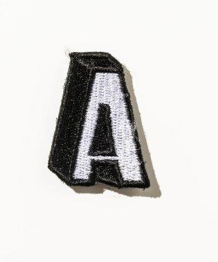 DRESSCAMP (ドレスキャンプ) カスタム用ワッペンピース アルファベットA