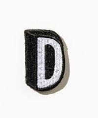 DRESSCAMP (ドレスキャンプ) カスタム用ワッペンピース アルファベットD