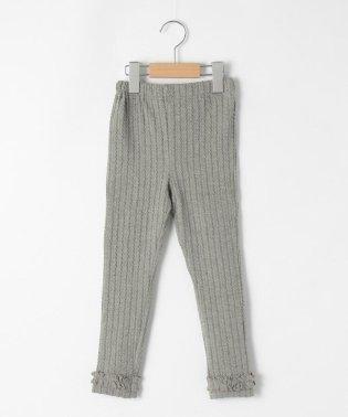 【80-150cm】裾フリルレギンス