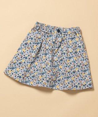【ROPE' PICNIC KIDS】インナーパンツ付き小花スカート