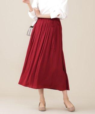 【CanCam 11月号掲載】【steady. 10月号掲載】ヴィンテージサテンギャザースカート
