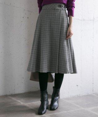 【UR】T/R裏起毛マーメイドスカート