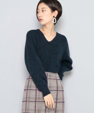 【SENSEOFPLACE】モヘヤルーズVネックセーター