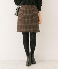 【UR】台形ミニスカート