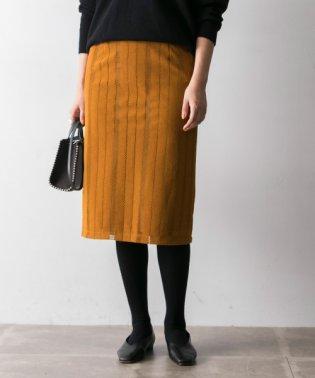 【UR】フロッキーレースタイトスカート