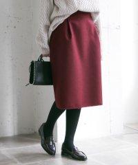 【UR】フリンジ台形スカート