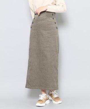 【SENSEOFPLACE】コーデュロイアイラインスカート