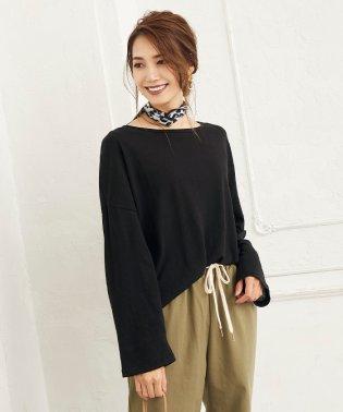 リネン混長袖Tシャツ