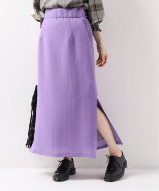 【NEU】VISメッシュ サイドスリットスカート