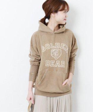 《予約》【Mixta/ミクスタ】GOLDEN BEAR FOODIE:別注フードスウェット◆