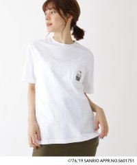 ハローキティ Hello Kitty 別注 バックプリント 半袖 Tシャツ