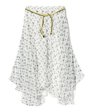 GHOSPELL / Summer Song Hanky Hem Skirt